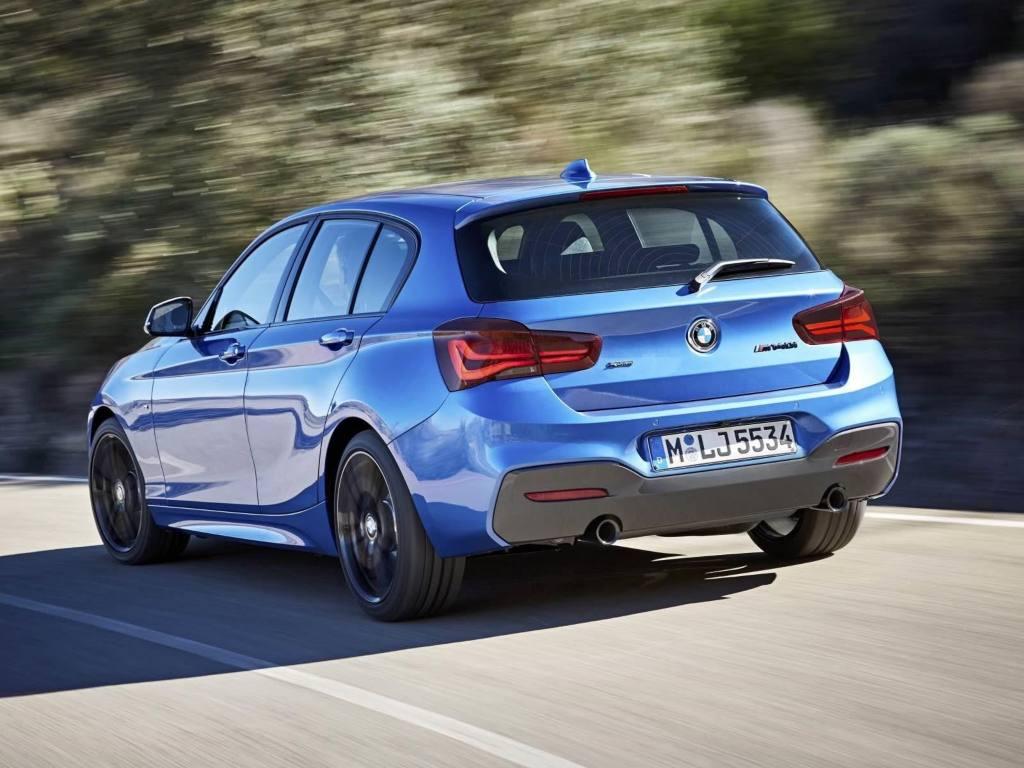 Trasera BMW Serie 1