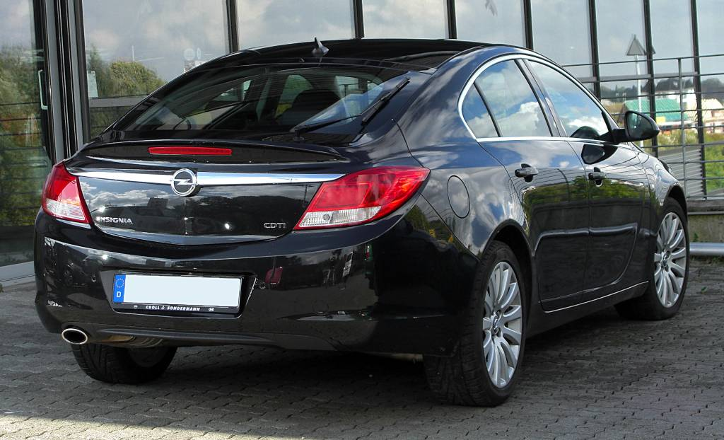 Trasera Opel Insignia