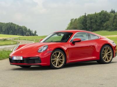 renting porsche 911 carrera coupe