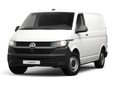 renting volkswagen trasnporter furgon corto