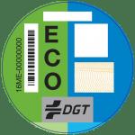 etiqueta DGT_ECO