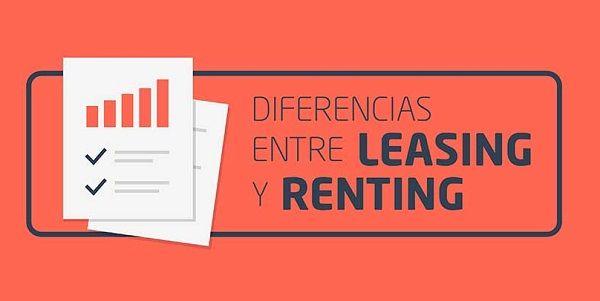 diferencias entre renting y leasing